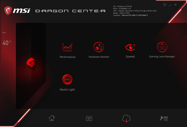 1660Ti Dragon Center
