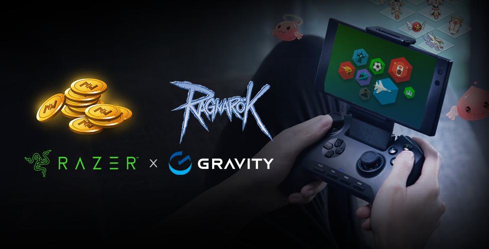 Razer partner Gravity